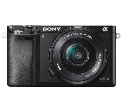 Sony Alpha 6000 systeemcamera zwart