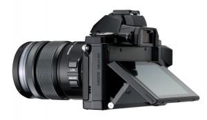 Olympus OM-D E-M5 kantelbaar scherm